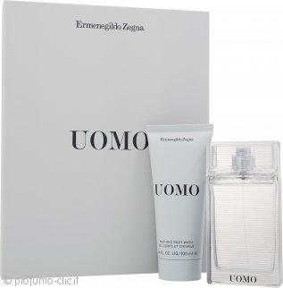 Ermenegildo Zegna Uomo Confezione Regalo 50ml EDT + 100ml Shampoo & Bagnoschiuma