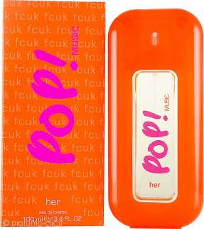 FCUK POP! Music Her Eau de Toilette 100ml Spray