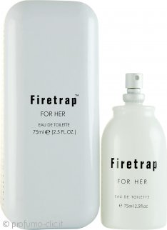 Firetrap For Her Eau de Toilette 75ml Spray