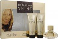 Heidi Klum Shine Confezione Regalo 30ml EDT + 75ml Lozione Corpo + 75ml Gel Doccia