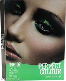 Jigsaw Perfect Colour Ultimate Eyes Kit 28 Pezzi - Ombretti + Polvere Luminosa + Mascara + Matite Occhi + Ciglia Finte + Applicatori