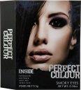 Jigsaw Perfect Colour Smoky Eyes Make Up Confezione Regalo - 8 Pezzi (Ombretto + Matita Occhi + Mascara + Applicatore)