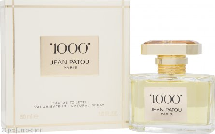 Jean Patou 1000 Eau de Toilette 50ml Spray