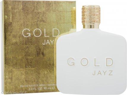 Jay Z Gold Eau de Toilette 90ml Spray