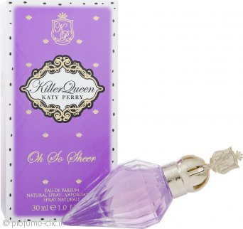 Katy Perry Killer Queen Oh So Sheer Eau de Parfum 30ml Spray