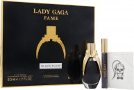 Lady Gaga Fame Confezione Regalo 50ml EDP + 10ml Roller Ball + Tattoo