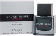 Lalique Encre Noire Sport Eau De Toilette 50ml Spray