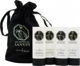 Lanvin Les Notes de Lanvin I Vetyver Blanc Confezione Regalo 45ml Lozione Corpo + 45ml Balsamo + 45ml Shampoo + 45ml Gel Doccia + Borsetta