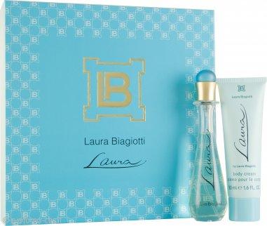 Laura Biagiotti Laura Confezione Regalo 25ml EDT + 50ml Crema per il Corpo