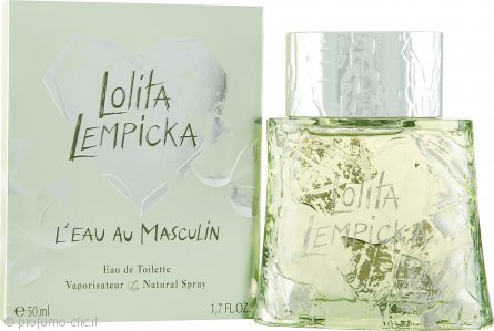 Lolita Lempicka L'Eau Au Masculin Eau de Toilette 50ml Spray