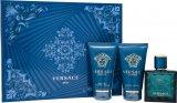 Versace Eros Confezione Regalo 50ml EDT + 50ml Balsamo Dopobarba + 50ml Gel Doccia