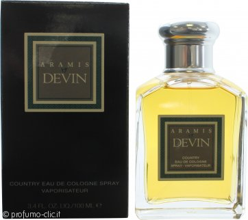 Aramis Devin Country Eau De Cologne 100ml Spray
