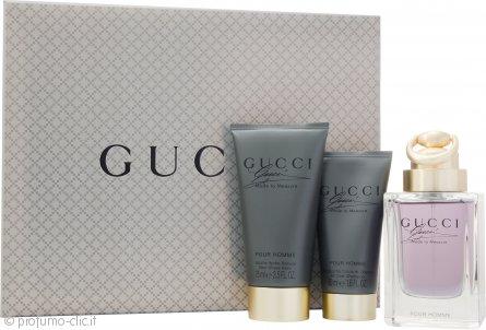 Gucci Made to Measure Confezione Regalo 90ml EDT Spray + 75ml Balsamo Dopobarba + 50ml Gel Doccia