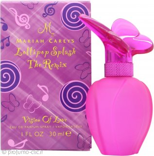Mariah Carey Lollipop Splash The Remix Vision of Love Eau de Parfum 30ml Spray