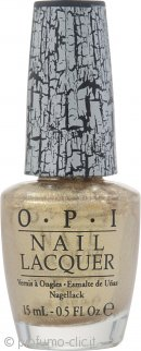 OPI Top Coat 15ml - Gold Shatter
