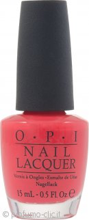 OPI Smalto 15ml Red Lights Ahead Where 136