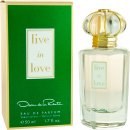 Oscar De La Renta Live in Love Eau de Parfum 50ml Spray