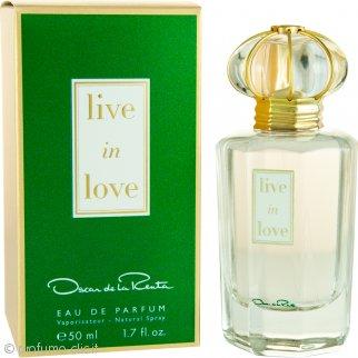 Oscar De La Renta Live in Love Eau de Parfum 50ml Spray
