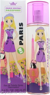 Paris Hilton Passport Paris Eau de Toilette 100ml Spray