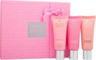 Molton Brown Replenishing Crema Mani Confezione Regalo 3 x 40ml - Rhubarb & Rose + Pink Pepperpod + Gingerlily