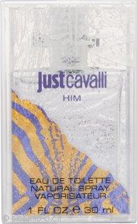 Roberto Cavalli Just Cavalli Him Eau de Toilette 30ml Spray