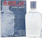 Replay Jeans Spirit! for Him Eau de Toilette 50ml Spray