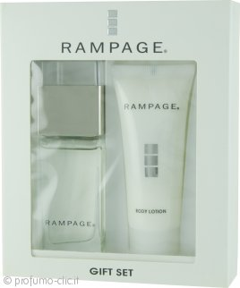 Rampage Confezione Regalo 30ml EDP + 40ml Lozione Corpo