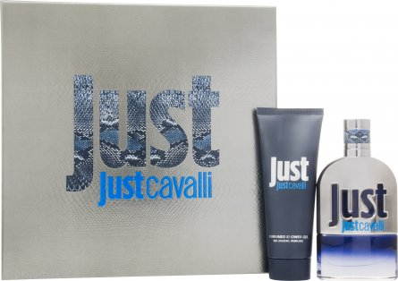 Roberto Cavalli Just Cavalli Him Confezione Regalo 50ml EDT + 75ml Gel Doccia
