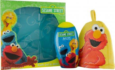 Sesame Street Sesame Street Confezione Regalo 250ml Bagnoschiuma & Guanto da Bagno