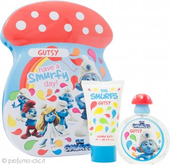 The Smurfs Gutsy Confezione Regalo 50ml EDT + 75ml Bagnoschiuma