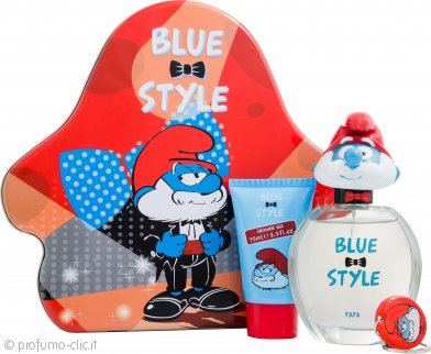 The Smurfs Papa Confezione Regalo 100ml EDT + 75ml Gel Doccia + Portachiavi