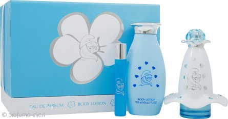 The Smurfs Smurfette Mania Confezione Regalo 50ml EDP + 150ml Lozione Corpo + 8ml EDP Roll-On