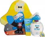 The Smurfs Vanity Confezione Regalo 100ml EDT + 75ml Gel Doccia + Portachiavi
