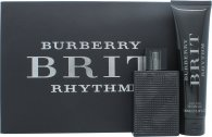 Burberry Brit Rhythm Confezione Regalo 90ml EDT Spray + 75g Deodorante Stick