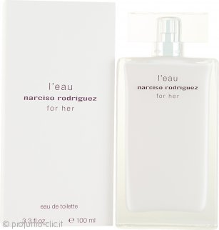 Narciso Rodriguez L'Eau for her Eau De Toilette 100ml Spray