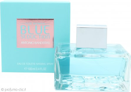 Antonio Banderas Blue Seduction for Women Eau de Toilette 100ml Spray