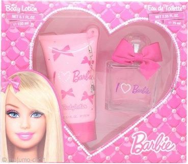 Barbie Barbie Confezione Regalo 75ml EDT + 150ml Lozione Corpo + Ciondolo