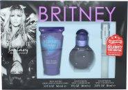Britney Spears Midnight Fantasy Confezione Regalo 30ml EDP Spray + 50ml Body Souffle + 10ml EDP Mini