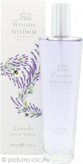 Woods of Windsor Lavender Eau de Toilette 100ml Spray
