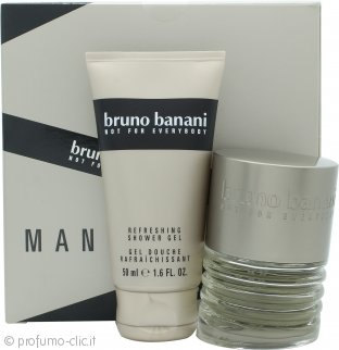 Bruno Banani Man Confezione Regalo 30ml EDT + 50ml Gel Doccia