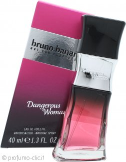 Bruno Banani Dangerous Woman Eau De Toilette 40ml Spray