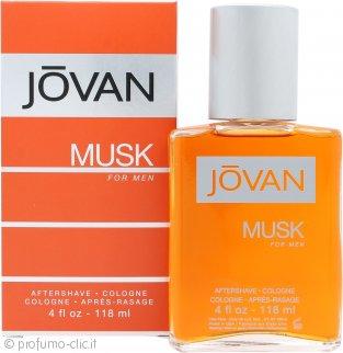Jovan Jovan Musk For Men Dopobarba 118ml Splash