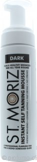 St Moriz Self Tan Range Instant Self Tanning Mousse Dark 200ml