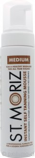St Moriz Self Tan Range Instant Self Tanning Mousse 200ml Medio