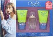 Taylor Swift Taylor Confezione Regalo 30ml EDP + 50ml Gel Doccia + 50ml Lozione per il Corpo + Suoneria Gratuita