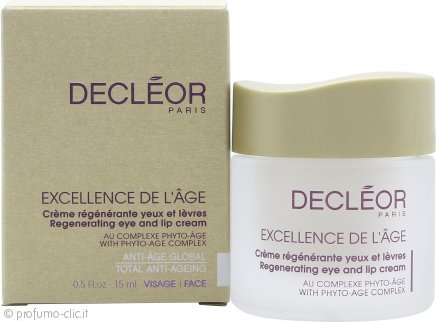 Decleor Excellence de l'Age Eye & Lip Regenerating Cream 15ml