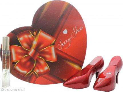 Laurelle Sexxy Shoo Red Confezione Regalo 2 x 30ml EDP Spray + 15ml EDP Spray