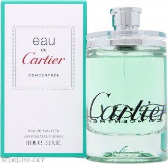 Cartier Eau de Cartier Concentree Eau de Toilette 100ml Spray