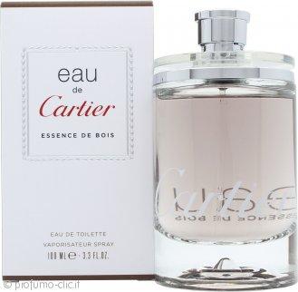 Cartier Eau de Cartier Essence de Bois Eau de Toilette 100ml Spray