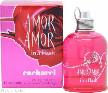 Cacharel Amor Amor In a Flash Eau de Toilette 100ml Spray